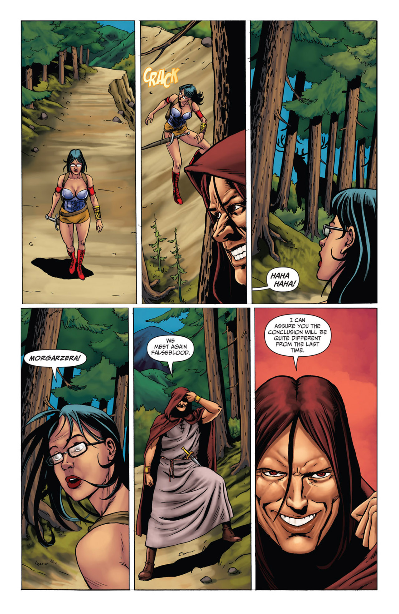 Grimm Fairy Tales (2005) Issue #52 #55 - English 18