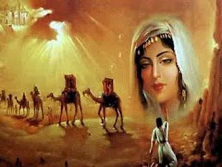 اشهر الاشعار العربية, الشعر المتبادل بين بشر الأسيدي و هند