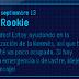 ¡Nuevo mensaje de Rookie!