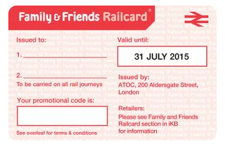 The Card Is Designed So That Up To 4 Adults And Children 5 15 Can Save Money 1 3 Off An Ticket 60 Kids