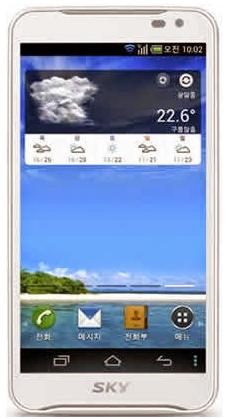 Pantech Vega LTE EX IM-A820L Android
