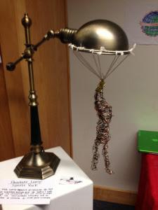 parachute lamp
