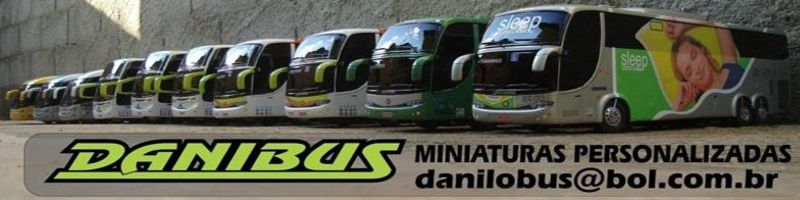 Miniaturas de ônibus