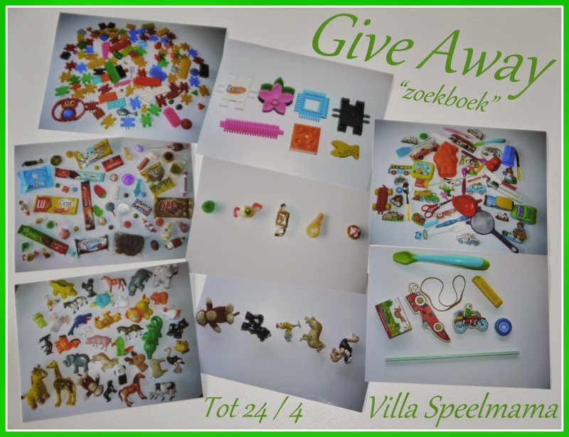 Give-away bij Villa Speelmama