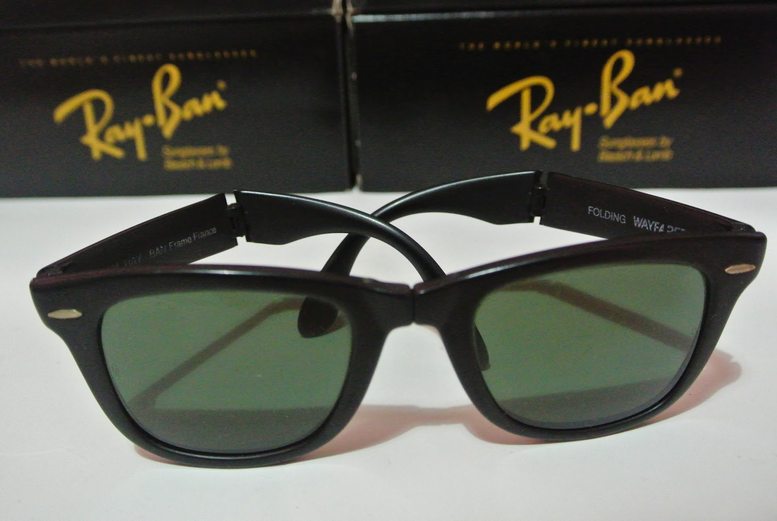 ray ban folding wayfarer original