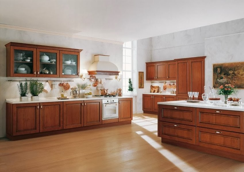 Materiales para cocinas iii maderas c lidas e for Modelos de pisos de cocina