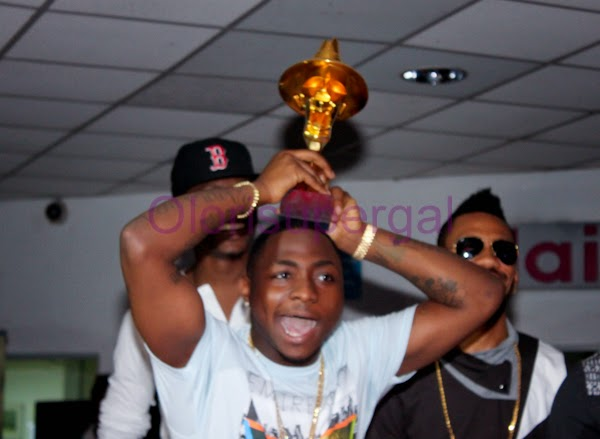 Headies Award 2014: Davido Wins Artiste of the Year Award