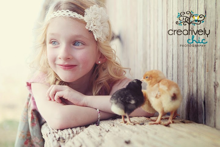 ~Easter Photo Ideas with baby chicks~