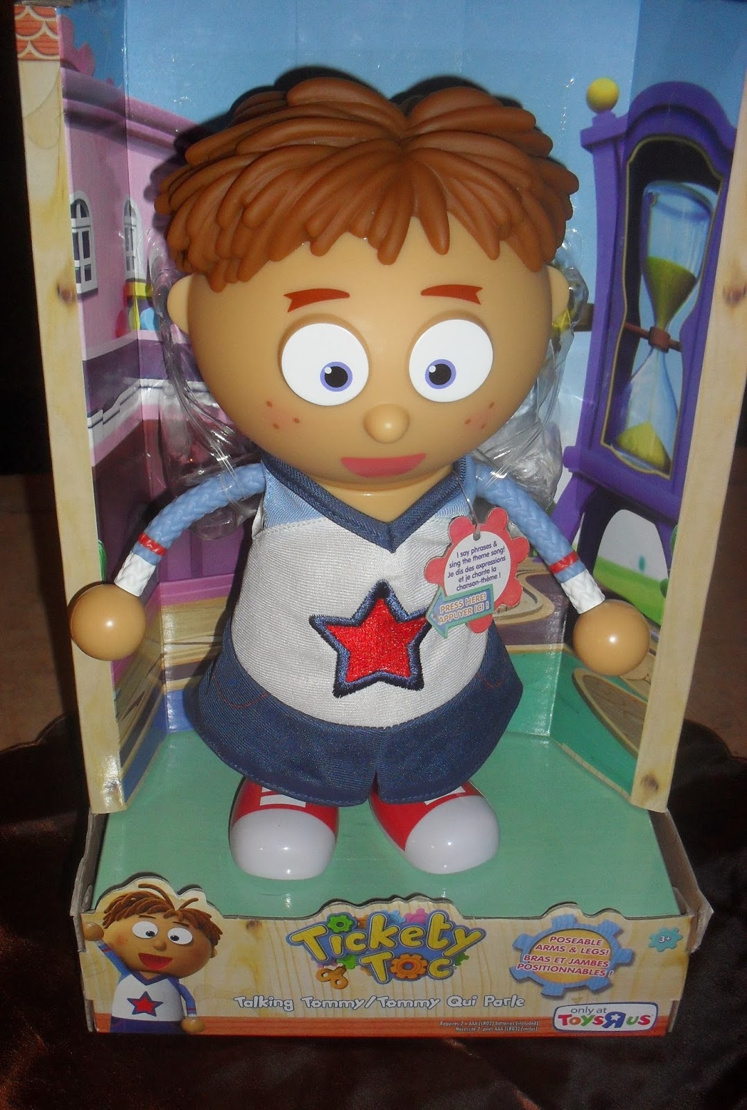 Simply Me: Tickety Toc Toys from Just Play: Talking Tommy ...