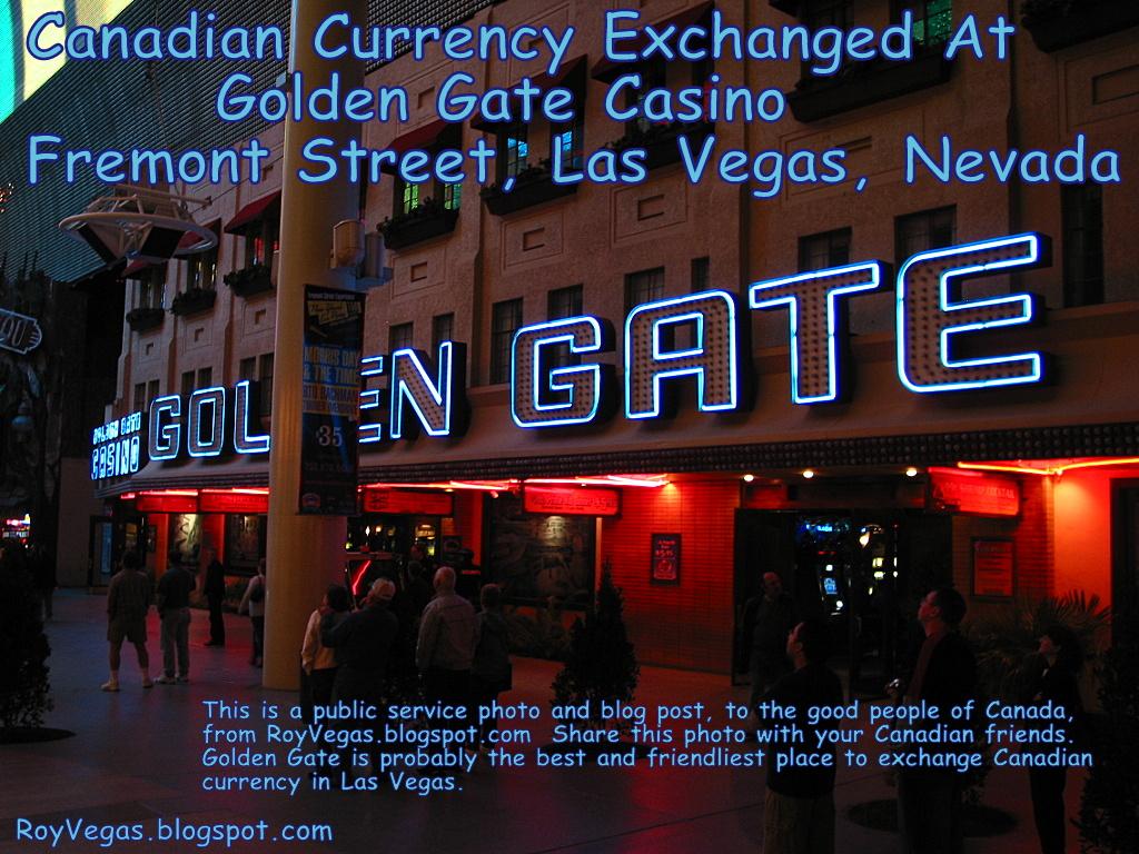 las vegas casino money exchange