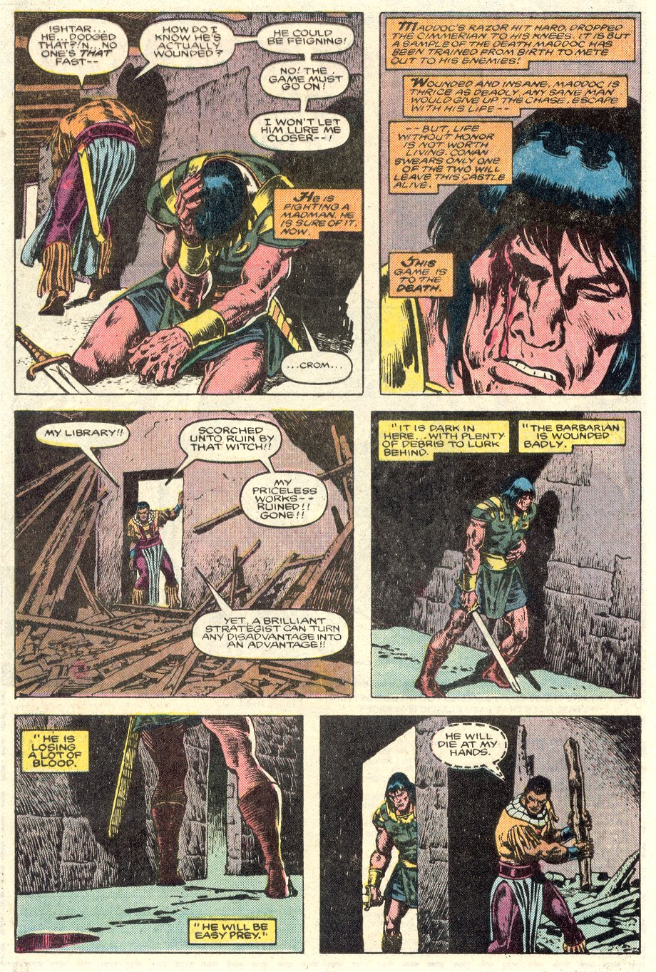 Conan the Barbarian (1970) Issue #184 #196 - English 18