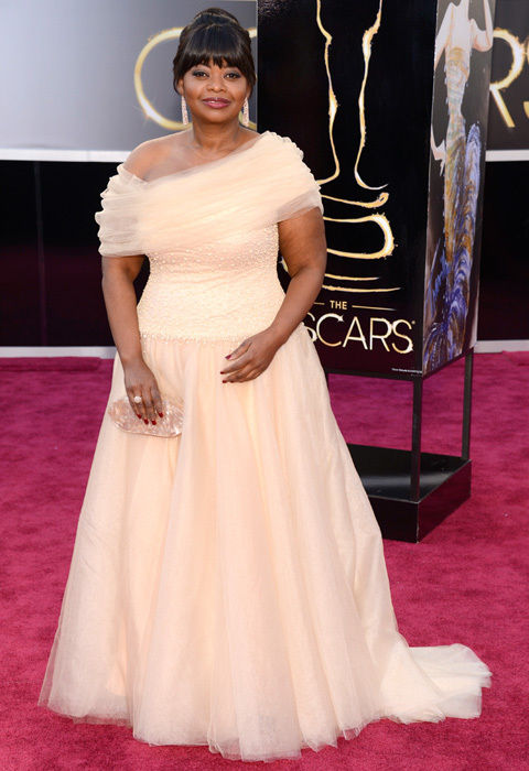 octavia spencer shoji oscars 2013 red carpet 18il9js 18il9kd Mega Photo Collection From The Oscars 2013