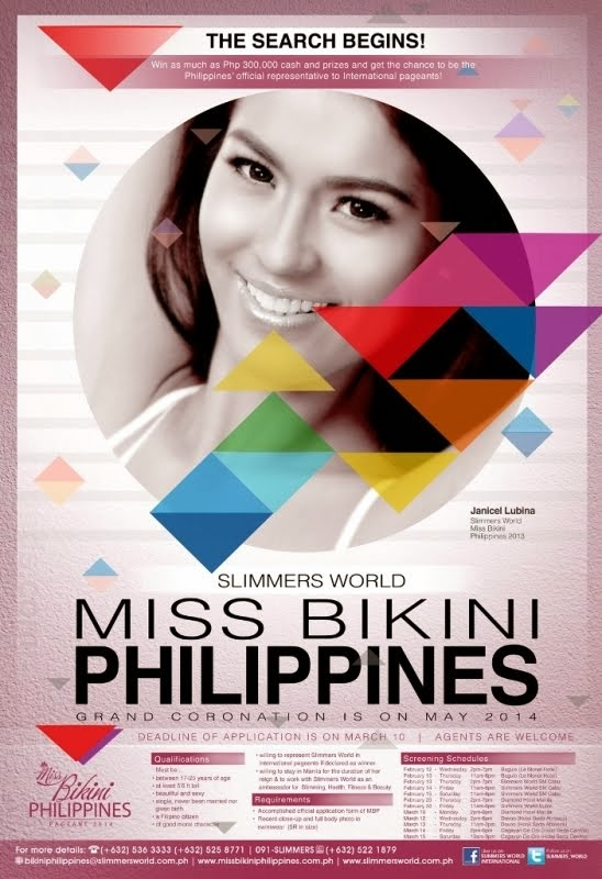 SEACH FOR MISS BIKINI PHILIPPINES 2014