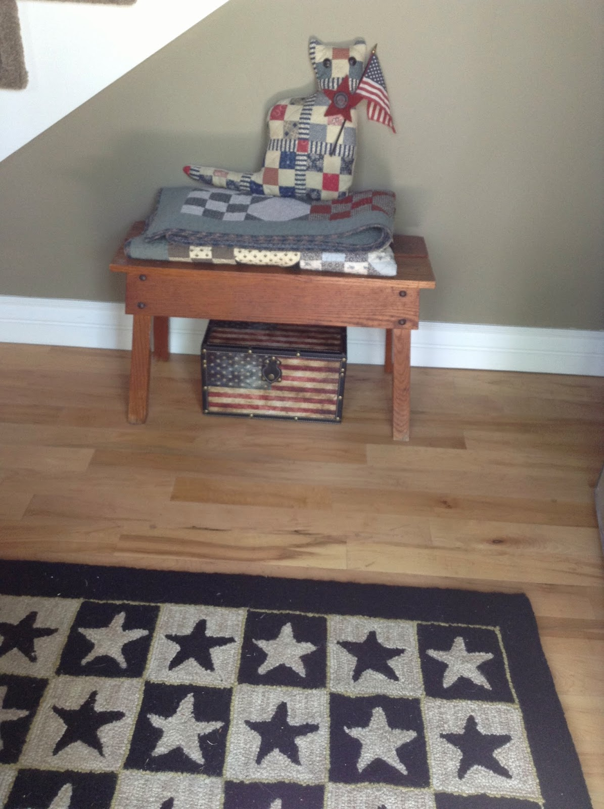 Timeless traditions memorial day for Front door quilt pattern