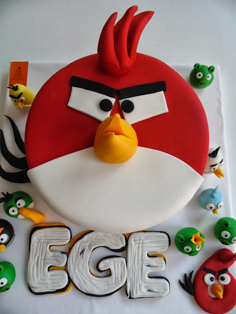 ANGRY BIRDS PASTA ♥