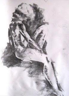 Bocetos Lapiz Desnudos Mujeres
