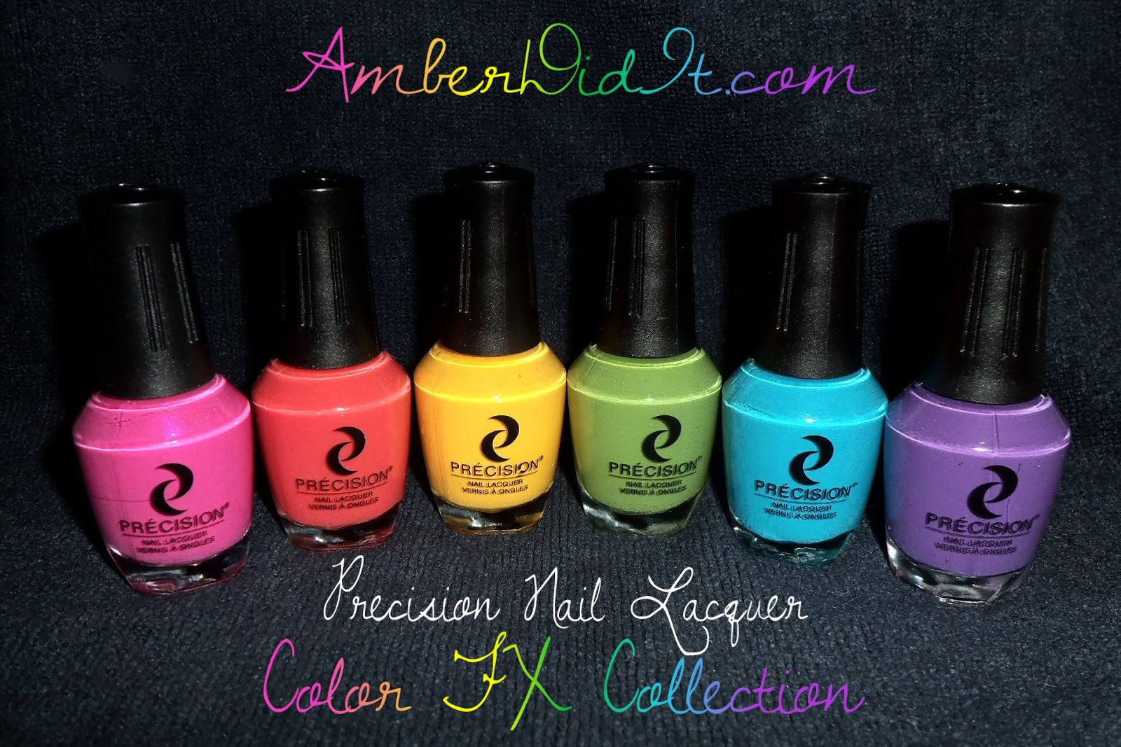 Precision Nail Lacquer Color Fx Collection Swatches And Review