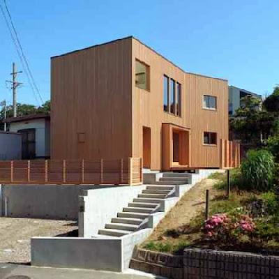 Dulu kita telah membahas tentang rumah kayu dan tips dalam persiapan membuat rumah kayu Inilah Model lain Rumah Kayu Minimalis 2 Lantai