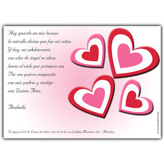 Frases Para Invitaciones De 15 A  Os 2012