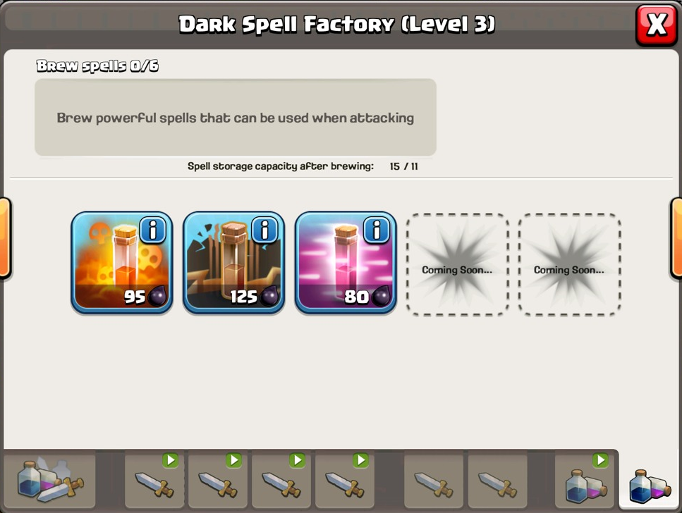 clash of clans spell factory - photo #19