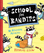 . a copy of School for Bandits, the finest raccoon picture book they have. (school for bandits pb cover)