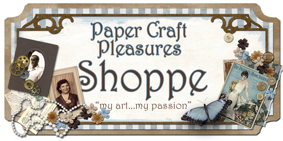 Paper Craft Pleasures- Shoppe