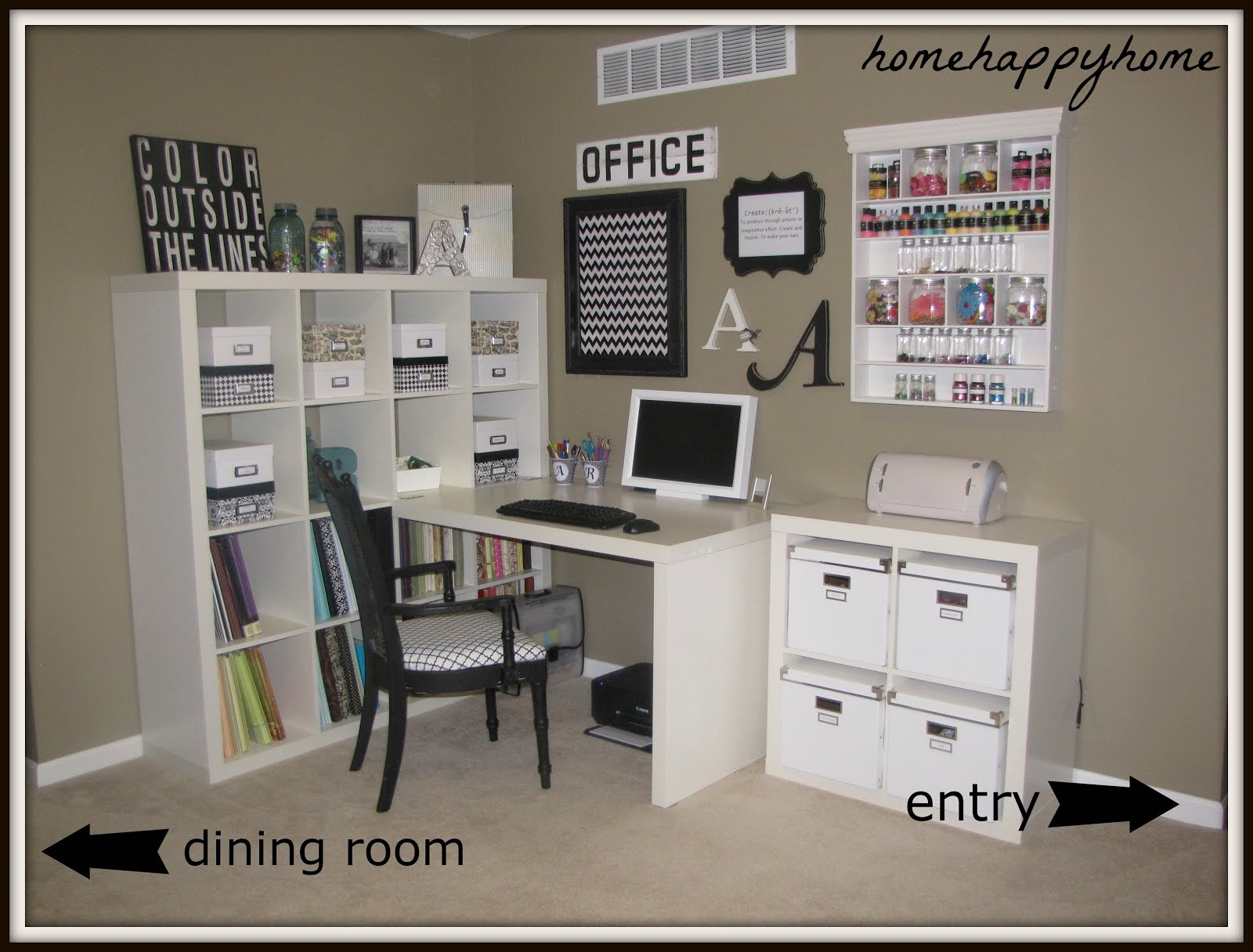IKEA Craft Room Ideas 1600 x 1216