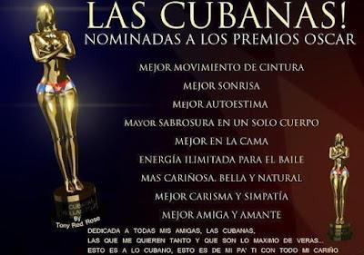 Las Cubanas Cuban@s Cubanos.