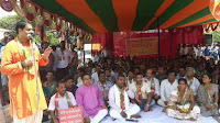 Odisha BJP observes Satyagraha