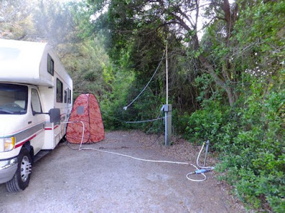 camping outdoor shower