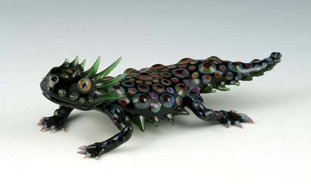 04-Dragon-Lizard-Scott-Bisson-Glass-Sea-and-Land-Animals-www-designstack-co