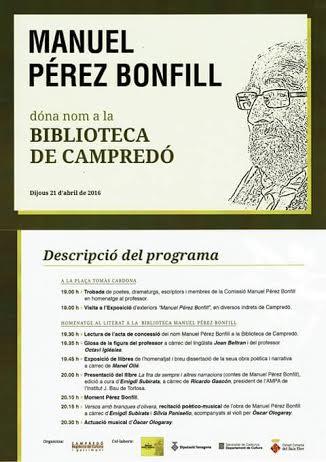 Biblioteca a Campredó