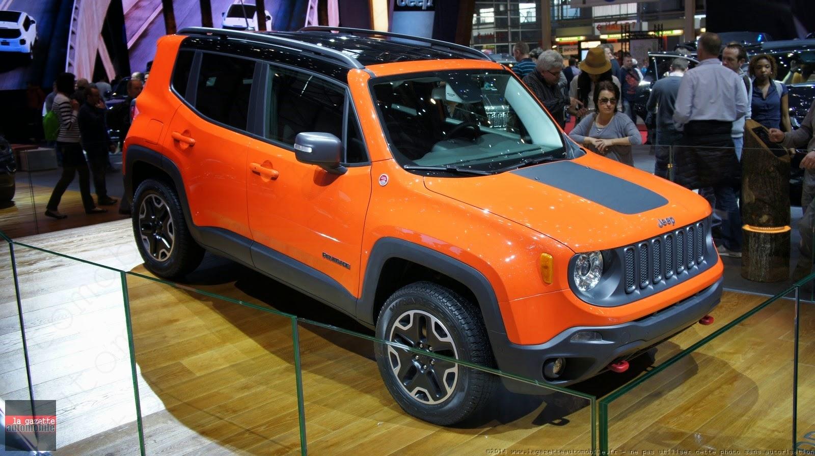 Genève : Jeep Renegade