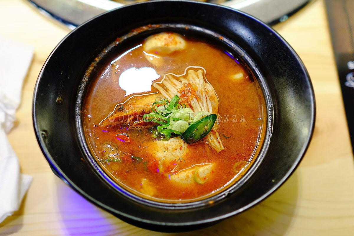 Sundubu Jjigae - also known as Soon Tofu