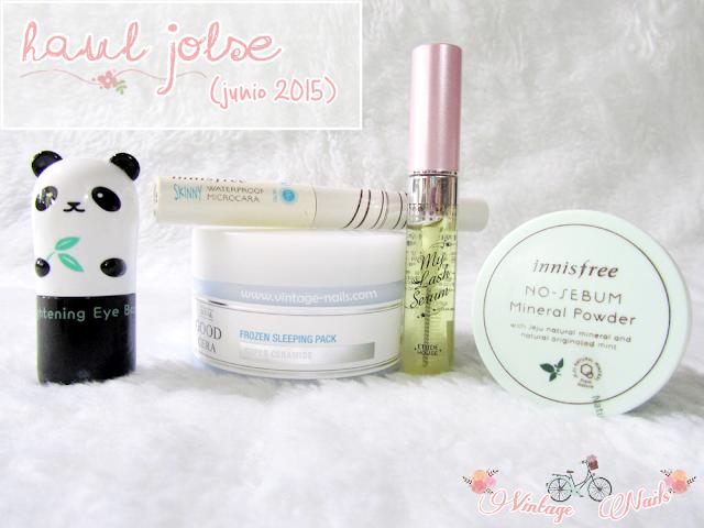 korean cosmetics, cosmetica coreana, haul, Etude House, Innisfree, TonyMoly, Holika Holika