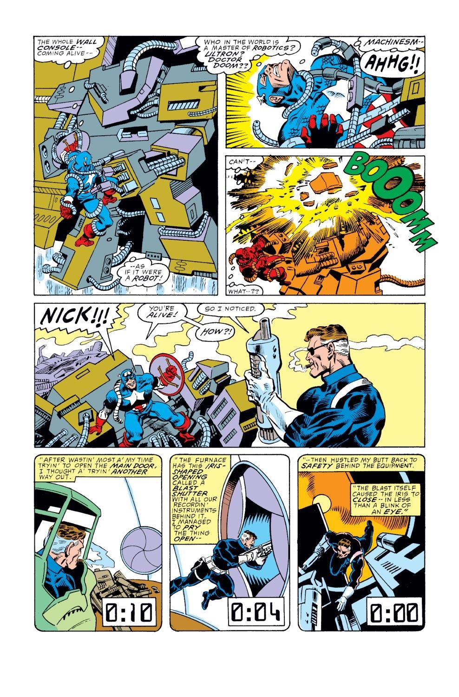 Captain America (1968) Issue #351 #283 - English 21