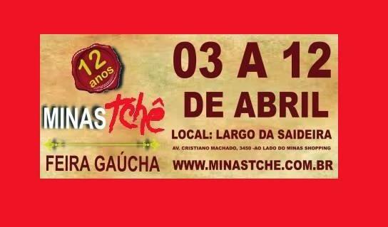 12ª Feira Minas Tchê