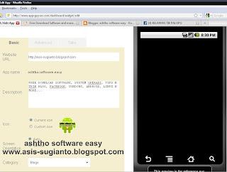Cara Menjadikan Blog Menjadi Aplikasi di Android