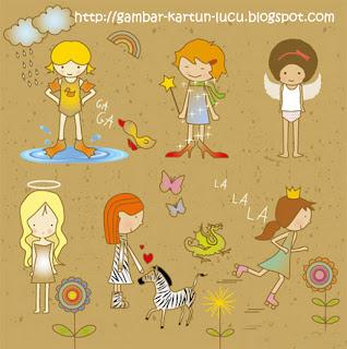Gambar Kartun Cute