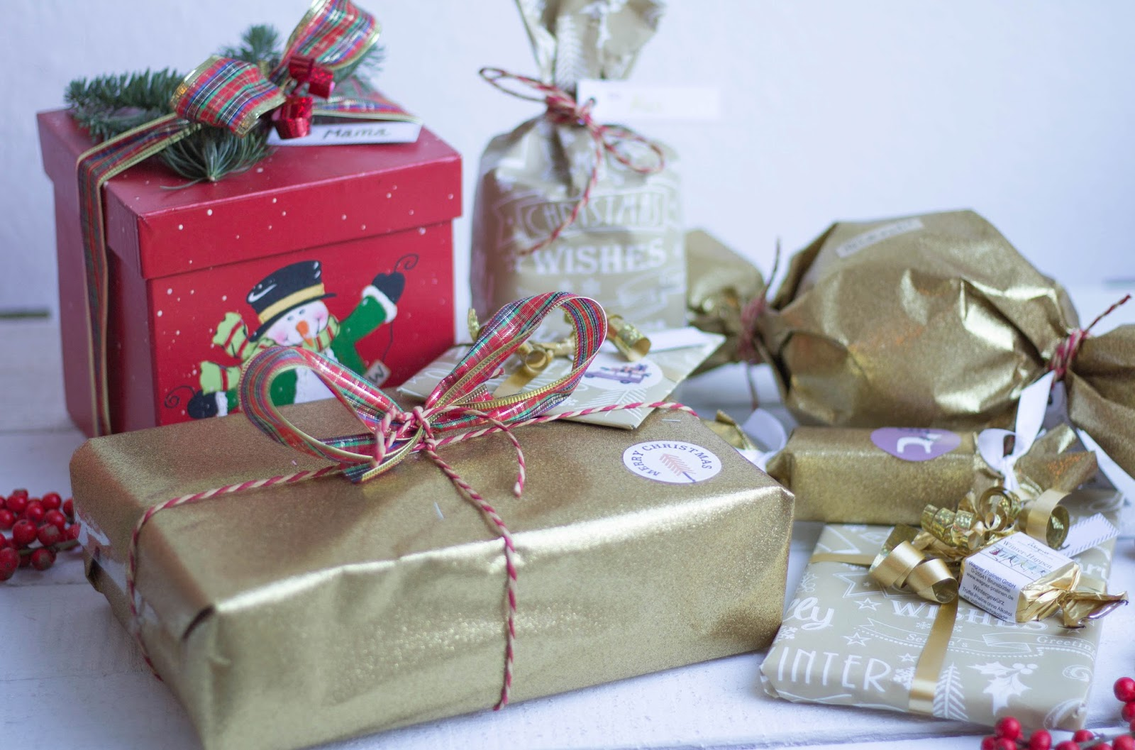 Last-Minute Tipps zum Geschenke verpacken | Victoria\'s Little Secrets