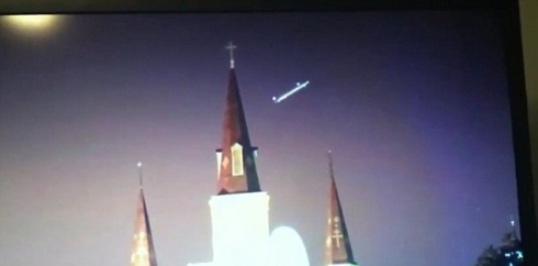UFO cathedral
