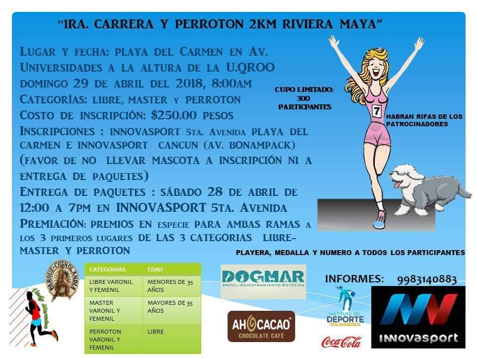 1ra Carrera y Perroton Riviera Maya