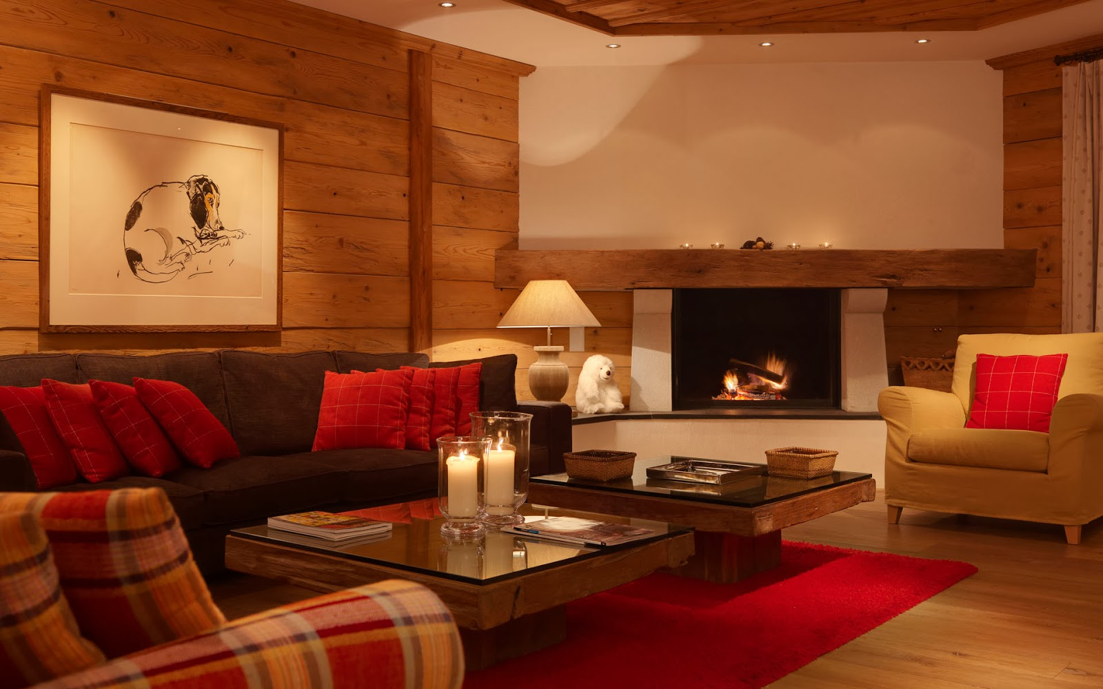 Luxury Life Design: Chesa Falcun Chalet, Switzerland - one
