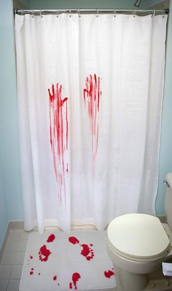 These Are Some Very Funny And Interesting Curtains For A Bathtub. They Are  Also Very Unusual. I Would Have Hung In My Bathroom Some Curtains Of This  ...