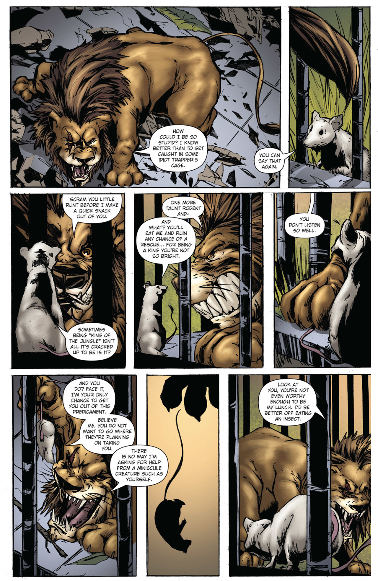 Grimm Fairy Tales (2005) Issue #38 #41 - English 12