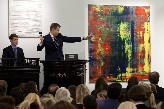 Eric Clapton sold Richter's painting to set a new record for money spent on art on a living artist @osaseye.blogspot.com