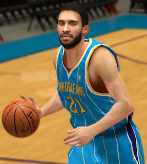 NBA 2K13 Greivis Vásquez Cyber Face Mod
