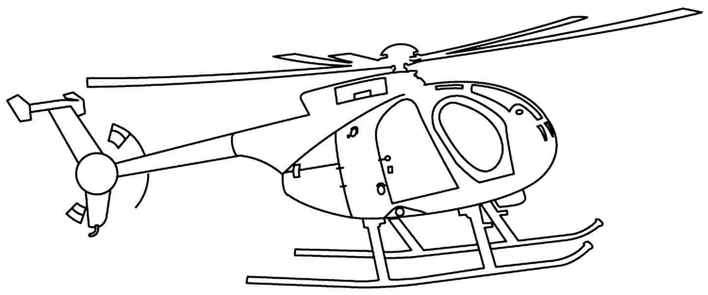 Printable coloring pages helicopter - Source Transportation Of Helicopters Coloring Sheets