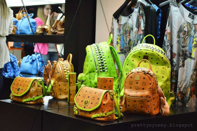 mcm stark backpack lime best greek fashion blog spring summer 2013