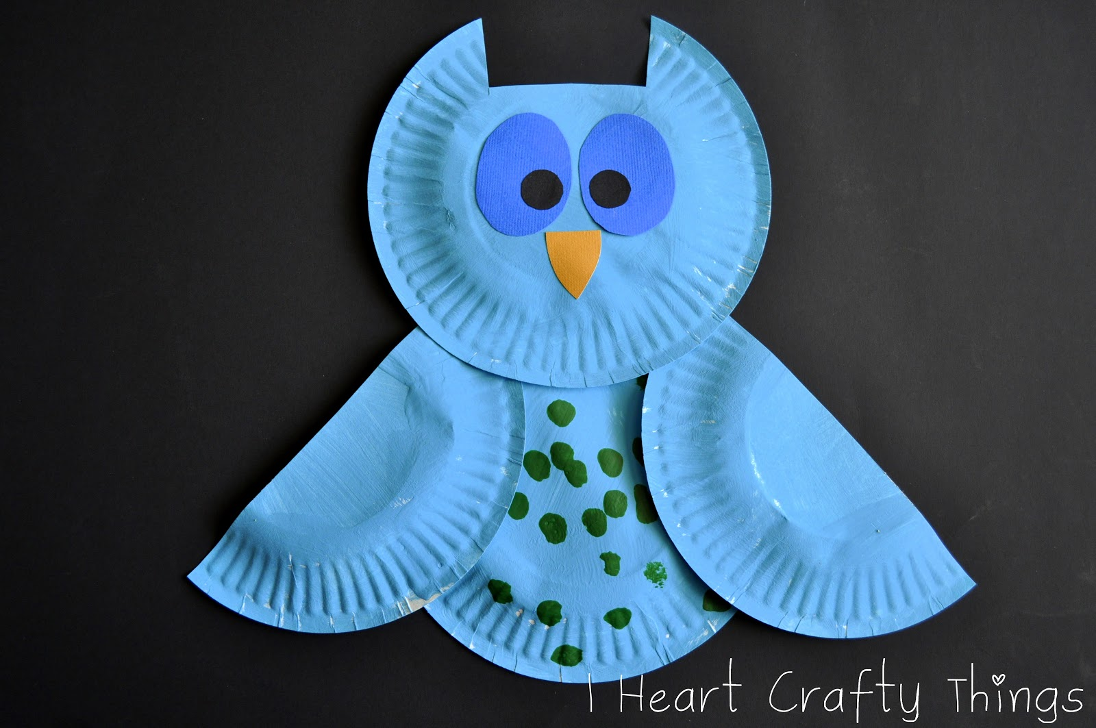 & Colorful Patterned Owls | I Heart Crafty Things